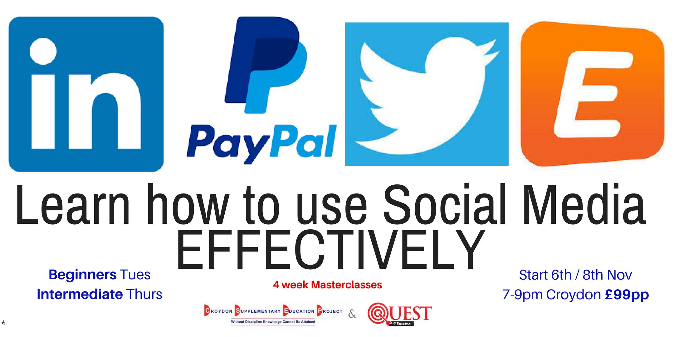 Social Media Masterclasses