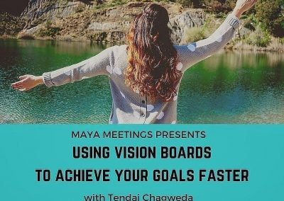 Maya Meetings flyer