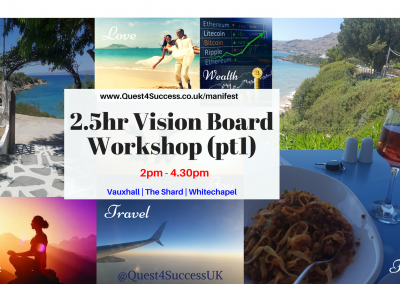 Vision Board workshops various EB