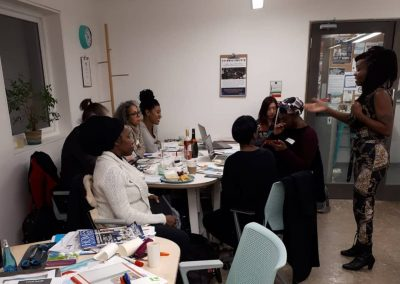 Vision Board wokshop at POP Brixton