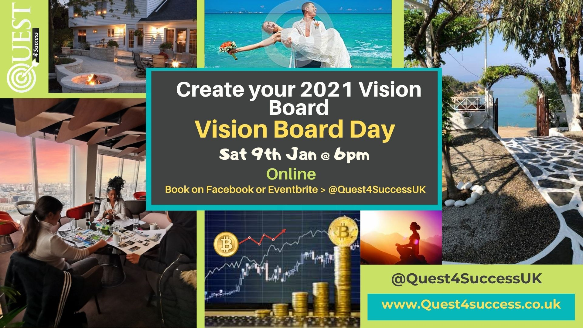 Online Vision Board Workshops 2021